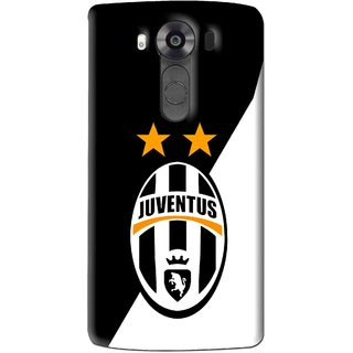 Snooky Printed Football Club Mobile Back Cover For Lg V10 - Multi
