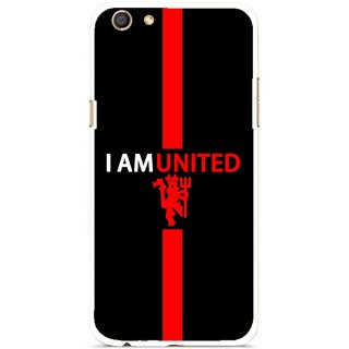 Snooky Printed United Mobile Back Cover For Oppo F3 - Multi