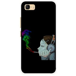 Snooky Printed Color Of Smoke Mobile Back Cover For Asus Zenfone 3s Max ZC521TL - Multi