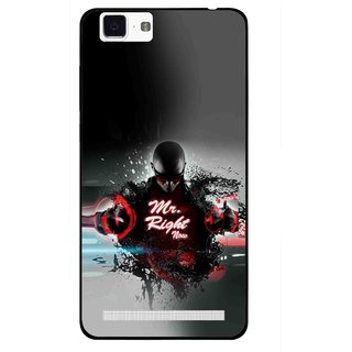 Snooky Printed Mr.Right Mobile Back Cover For Vivo X5 Max - Multi