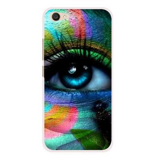 Snooky Printed Designer Eye Mobile Back Cover For Vivo V5 Plus - Multi