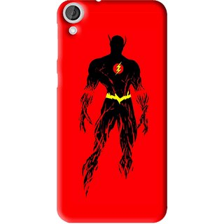 Snooky Printed Electric Man Mobile Back Cover For HTC Desire 820 - Multi