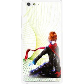 Snooky Printed Stylo Boy Mobile Back Cover For Gionee Elife S6 - Multi