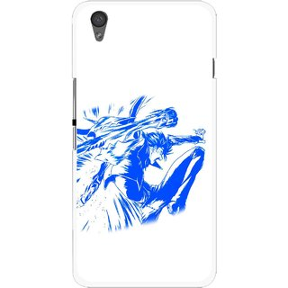 Snooky Printed Horse Boy Mobile Back Cover For One Plus X - Multi