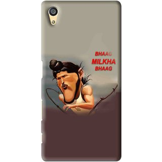 Snooky Printed Bhaag Milkha Mobile Back Cover For Sony Xperia Z5 - Multi