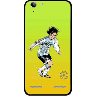 Snooky Printed Focus Ball Mobile Back Cover For Lenovo Vibe K5 Plus - Multi