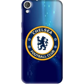 Snooky Printed Football Club Mobile Back Cover For HTC Desire 820 - Multi