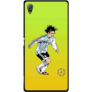 Snooky Printed Focus Ball Mobile Back Cover For Sony Xperia Z3 - Multi