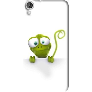 Snooky Printed Seeking Alien Mobile Back Cover For HTC Desire 820 - Multi