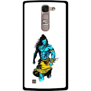 Snooky Printed Bhole Nath Mobile Back Cover For Lg Spirit - Multi