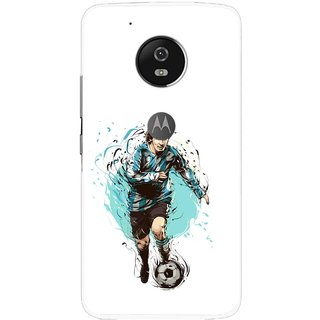 Snooky Printed Have To Win Mobile Back Cover For Moto G5 Plus - Multi