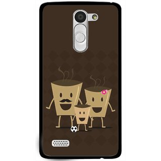 Snooky Printed Wake Up Coffee Mobile Back Cover For Lg L Bello - Multi
