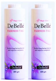 DeBelle Fairness Talc Combo (Pack of 2) 400g
