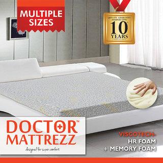 Dr.Mattrezz Viscotech Queen Mattress (72x48x8 Inch)