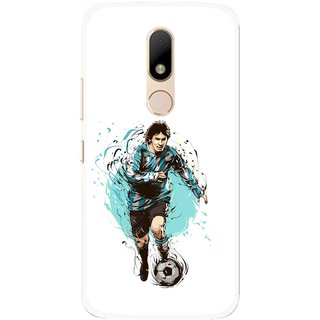 Snooky Printed Have To Win Mobile Back Cover For Motorola Moto M - Multi