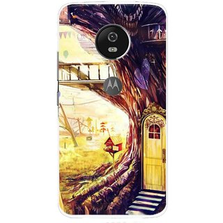 Snooky Printed Dream Home Mobile Back Cover For Moto G5 Plus - Multi