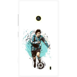 Snooky Printed Have To Win Mobile Back Cover For Nokia Lumia 520 - Multi
