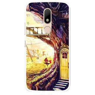 Snooky Printed Dream Home Mobile Back Cover For Motorola Moto M - Multi
