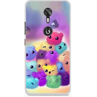 Snooky Printed Cutipies Mobile Back Cover For Gionee A1 - Multi