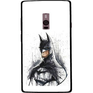 Snooky Printed Angry Batman Mobile Back Cover For OnePlus 2 - Multi