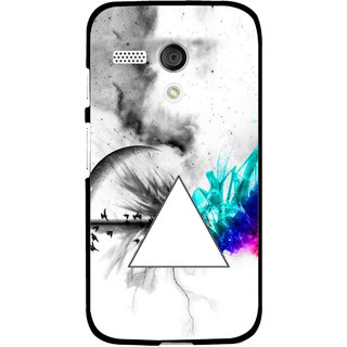 Snooky Printed Math Art Mobile Back Cover For Moto G - Multi