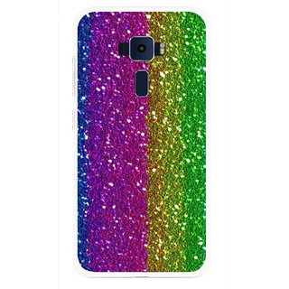 Snooky Printed Sparkle Mobile Back Cover For Asus Zenfone 3 ZE520KL - Multi