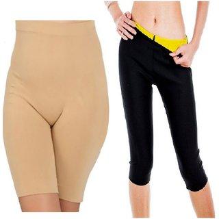 Katish Hot Pant Shaper and corset shaper Multi color Shapewear
