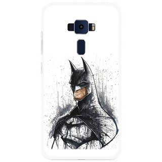 Snooky Printed Angry Batman Mobile Back Cover For Asus Zenfone 3 ZE520KL - Multi