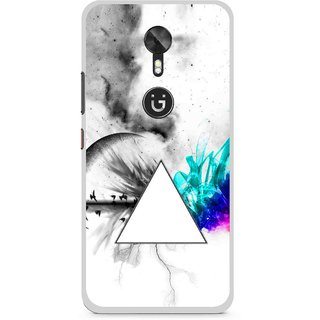 Snooky Printed Math Art Mobile Back Cover For Gionee A1 - Multi