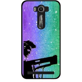 Snooky Printed Sparkling Boy Mobile Back Cover For Asus Zenfone 2 Laser ZE500KL - Multi