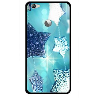 Snooky Printed Sparkling Stars Mobile Back Cover For Letv Le 1S - Multi