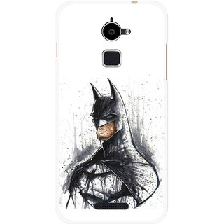Snooky Printed Angry Batman Mobile Back Cover For Coolpad Note 3 Lite - Multi