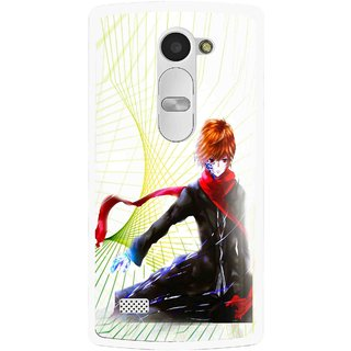 Snooky Printed Stylo Boy Mobile Back Cover For Lg Leon - Multi