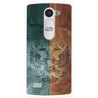 Snooky Printed Eagle Mobile Back Cover For Lg Leon - Multi