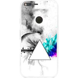 Snooky Printed Math Art Mobile Back Cover For Google Pixel XL - Multi