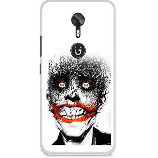 Snooky Printed Joker Mobile Back Cover For Gionee A1 - Multi