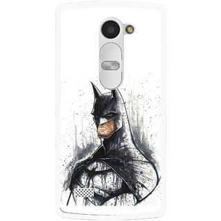 Snooky Printed Angry Batman Mobile Back Cover For Lg Leon - Multi