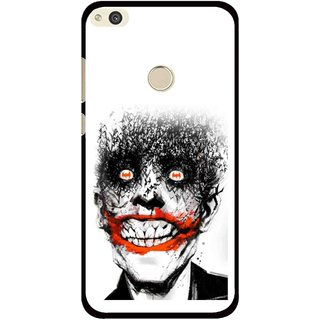 Snooky Printed Joker Mobile Back Cover For Huawei P8 Lite (2017) - Multi