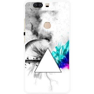 Snooky Printed Math Art Mobile Back Cover For Huawei Honor 8 - Multi