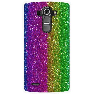 Snooky Printed Sparkle Mobile Back Cover For Lg G4 - Multi