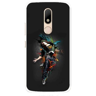 Snooky Printed Music Mania Mobile Back Cover For Motorola Moto M - Multi