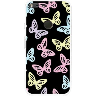 Snooky Printed Butterfly Mobile Back Cover For Google Pixel XL - Multi