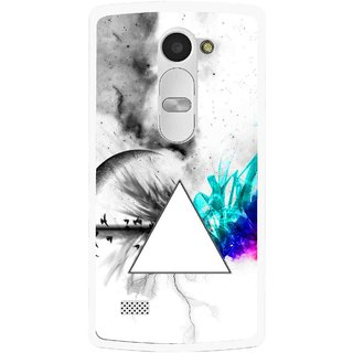 Snooky Printed Math Art Mobile Back Cover For Lg Leon - Multi