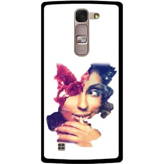 Snooky Printed Vintage Girl Mobile Back Cover For Lg Spirit - Multi