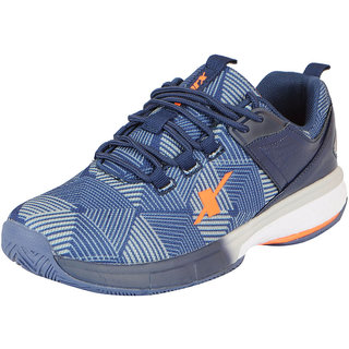 Sparx Mens Navy Grey Mesh Running/Walking/Training/Gym Shoes