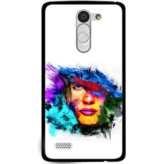 Snooky Printed Dashing Girl Mobile Back Cover For Lg L Bello - Multi