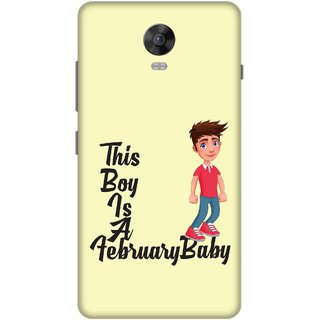 Print Opera Hard Plastic Designer Printed Phone Cover for lenovo vibep1-vibep1turbo This boy is a february baby