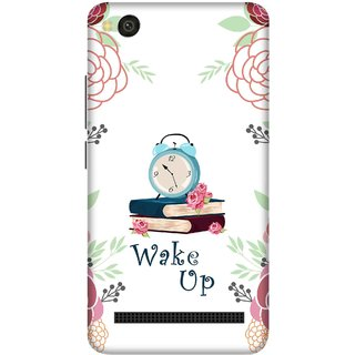 Print Opera Hard Plastic Designer Printed Phone Cover for xiaomimi4a Wake up