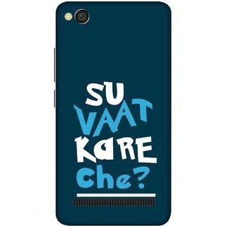 Print Opera Hard Plastic Designer Printed Phone Cover for xiaomimi4a Su vaat kare che ?