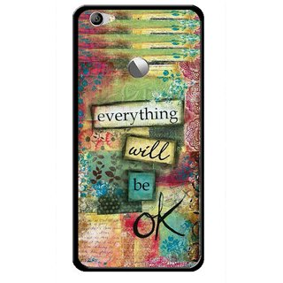Snooky Printed Will Ok Mobile Back Cover For Letv Le 1S - Multi